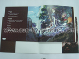 Soft cover art book printing