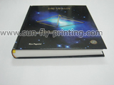 Thick hardcover art book printing