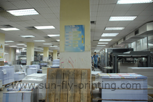 printing department of china printing manufacturer